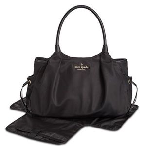 Kate spade NY Stevie diaper bag black